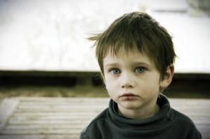 Бездомный мальчик