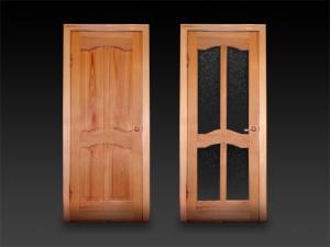 Какие бывают деревянные двери в Волгограде