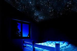 Установка натяжного потолка «звездное небо» при ремонте