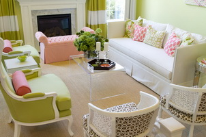 Интерьер дома весенняя свежесть