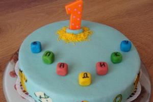 Готовим день рождения для годовалого малыша!