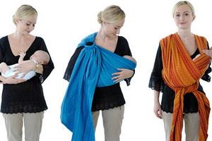 Какой слинг шарф выбрать для новорожденного