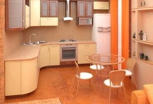Выбираем пробковые полы для кухни