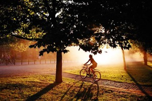 Как правильно кататься на велосипеде