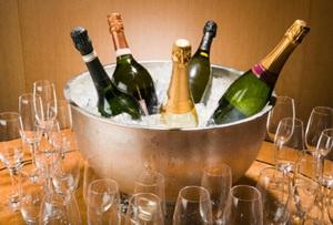 Как разморозить шампанское?