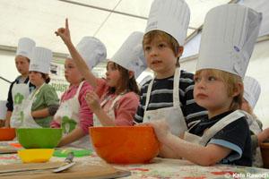 Кулинарные праздники для детей