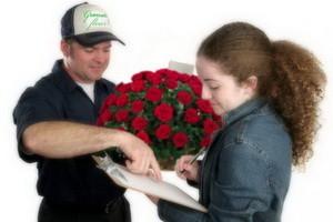 Где заказать доставку цветов?