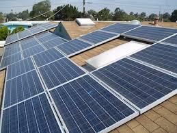 Mонтаж солнечных батарей