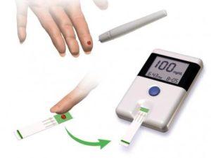 Tест полоски для глюкометра