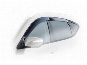 В чем плюсы установки дефлекторов боковых окон?